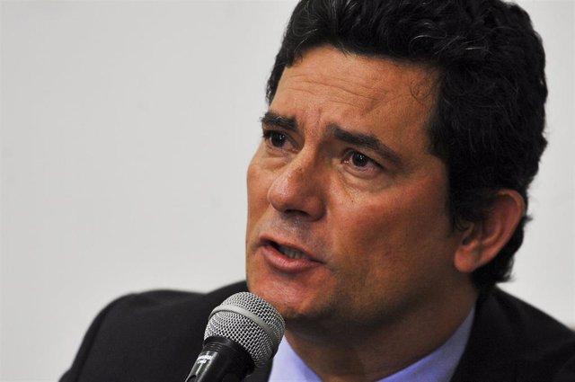 El exministro brasileño Sergio Moro