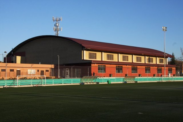 Campo de fútbol en Getafe