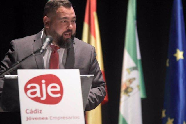 Daniel Sánchez Ayala, presidente de AJE Cádiz