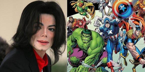 2. El día que Michael Jackson casi compra Marvel