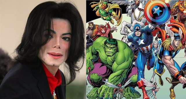 Michael Jackson estuvo a punto de comprar Marvel