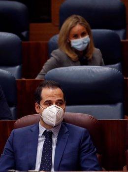 Imagen de recurso del vicepresidente de la Comunidad de Madrid, Ignacio Aguado.