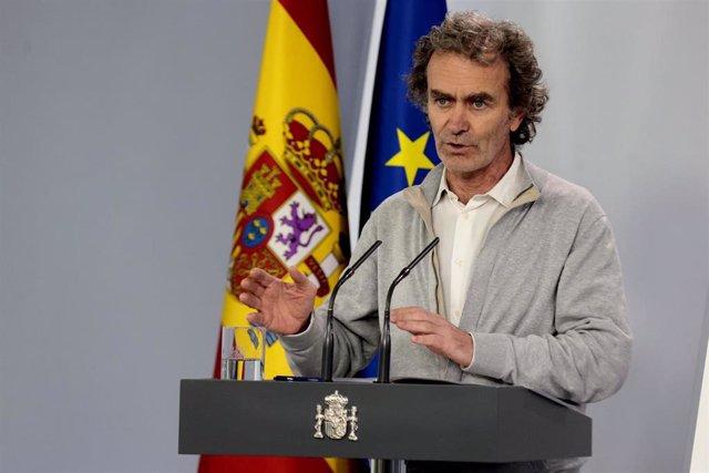 El director del Centro de Alertas y Emergencias Sanitarias, Fernando Simón,