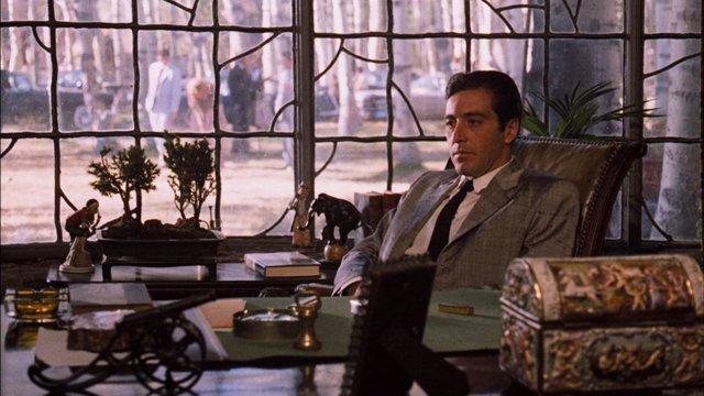 Al Pacino en El Padrino Parte 2