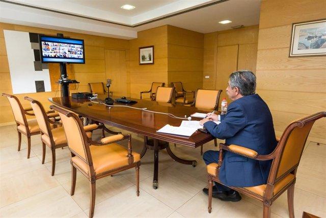 Revilla en la conferencia de presidentes autonómicos