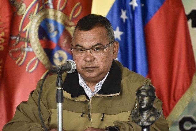 El Ministro de Interior venezolano, Néstor Luis Reverol