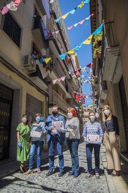 Granada vive un Día de la Cruz diferente
