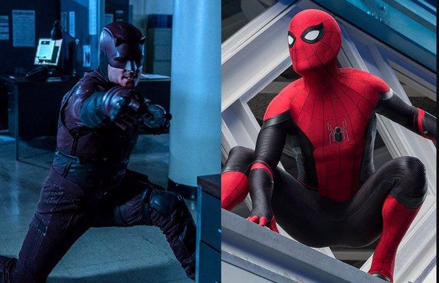 Daredevil en Spider-Man