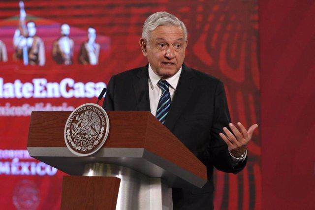 """Coronavirus.- López Obrador aboga por un cambio de modelo tras el """"fracaso"""" neol"""