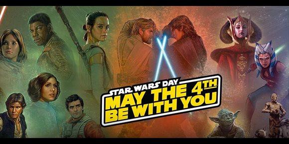 5. ¿Por qué el Star Wars Day se celebra el 4 de mayo?