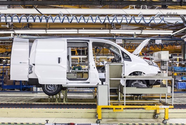 Producció de la i-NV200 en la planta de Nissan a Barcelona
