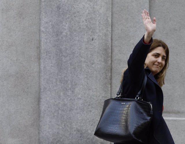 Marta Pascal arriba al Suprem a declarar pel procés (ARXIU)
