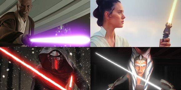 4. Star Wars: ¿Qué significa el color de los sables láser de los jedi y los sith?