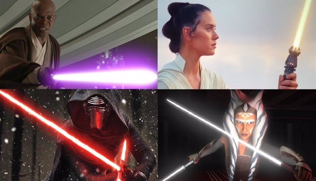 ¿Qué Significa El Color De Los Salbes Láser De Star Wars?