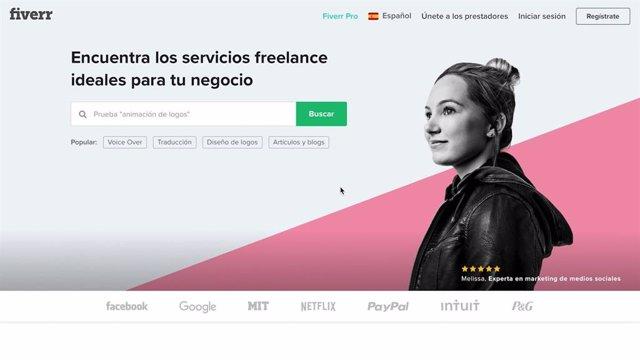 COMUNICADO: Fiverr, la plataforma internacional de trabajos freelance, llega a E