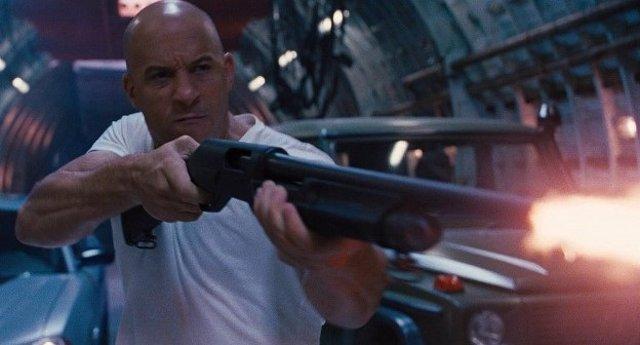 Vin Diesel en la saga Fast and Furious