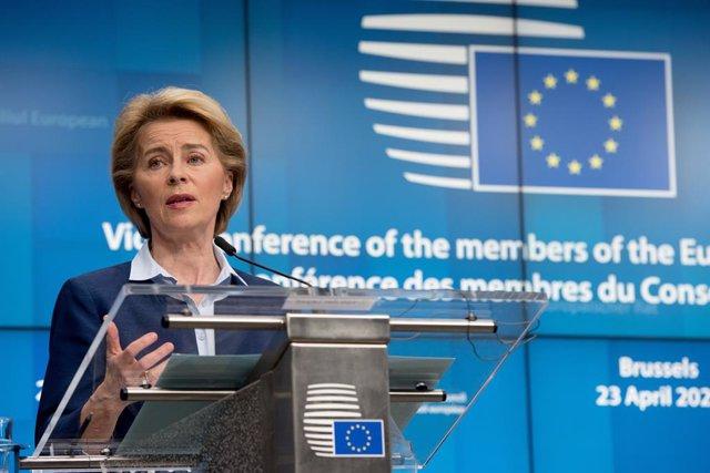 Coronavirus.- Bruselas abre con 1.000 millones la conferencia global de donantes