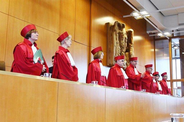 UE.- El Constitucional alemán se pronunciará mañana sobre la legalidad de las co