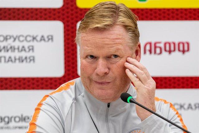 """Fútbol.- El agente de Koeman asegura que el técnico """"volverá pronto a casa"""""""