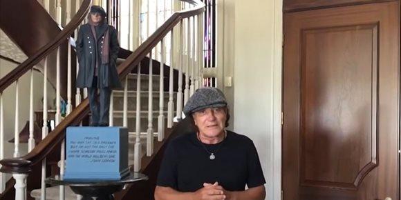 5. Brian Johnson habla a los fans de AC/DC