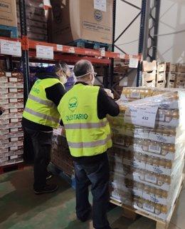 Normon entrega 13.500 kilos de comida al Banco de Alimentos de Madrid