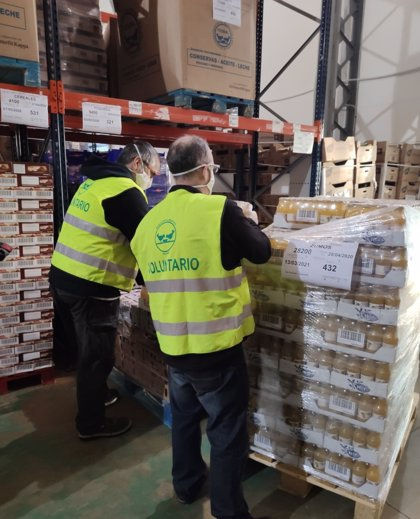 Coronavirus.- Los empleados de Normon donan más de 13.500 kilogramos de comida al banco de alimentos de Madrid