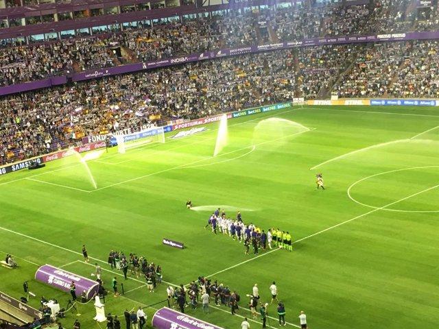 Fútbol.- El Valladolid pasará reconocimientos y se hará los test desde el miérco