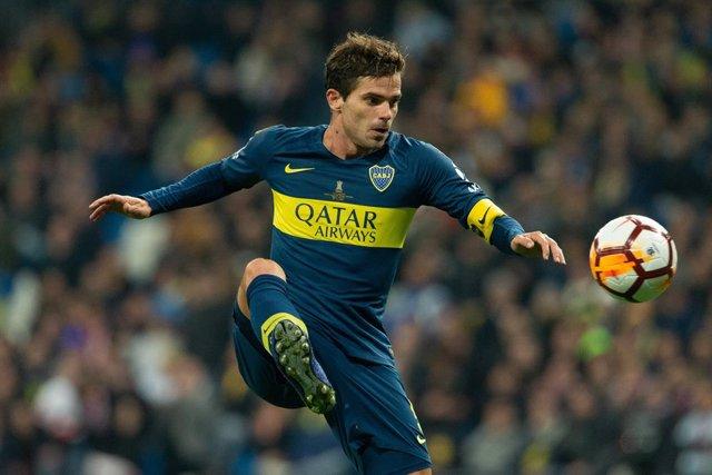 """Fútbol.- Gago sufrió """"una reacción alérgica"""" durante el ataque al bus de Boca an"""