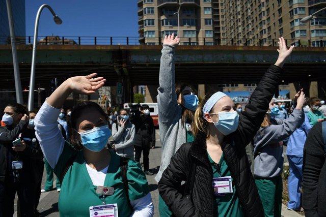 Coronavirus en Nueva York, Estados Unidos.