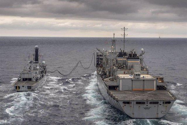 EEUU/Rusia.- EEUU envía una flota al mar de Barents por primera vez desde la Gue