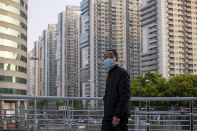 Coronavirus en Shanghái, China.