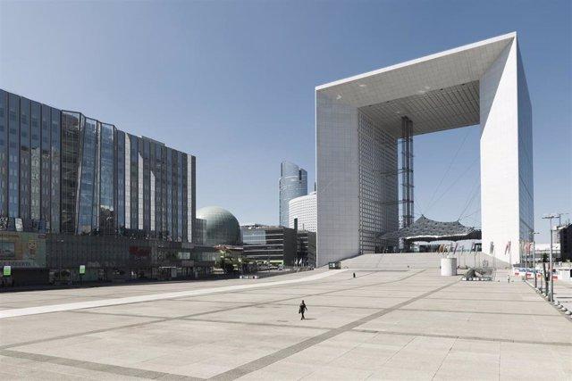 Explanada de La Défense de París