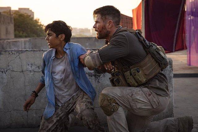 Imagen de la película Tyler Rake, el último gran éxito de Netflix