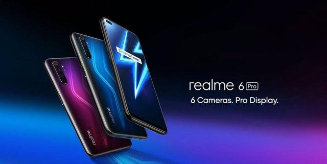 Realme 6 Pro expande la gama media con cámara selfi dual perforada y Snapdragon