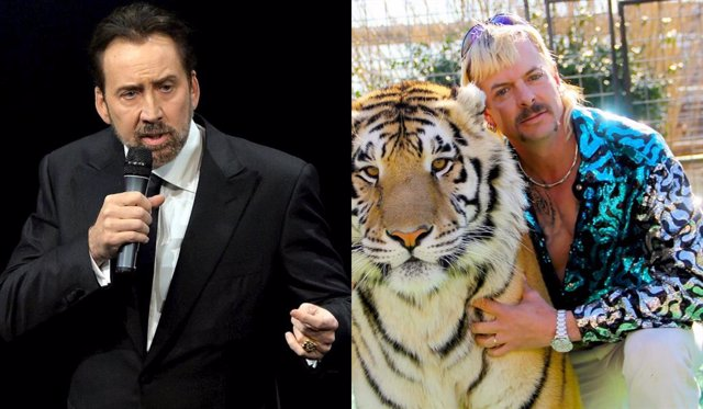 : Nicolas Cage Interpretará A Joe Exotic De Tiger King