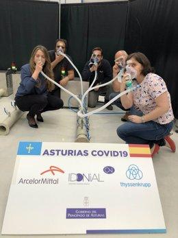 Coronavirus.- Asturias envía a Liberia y República Dominicana los primeros proto