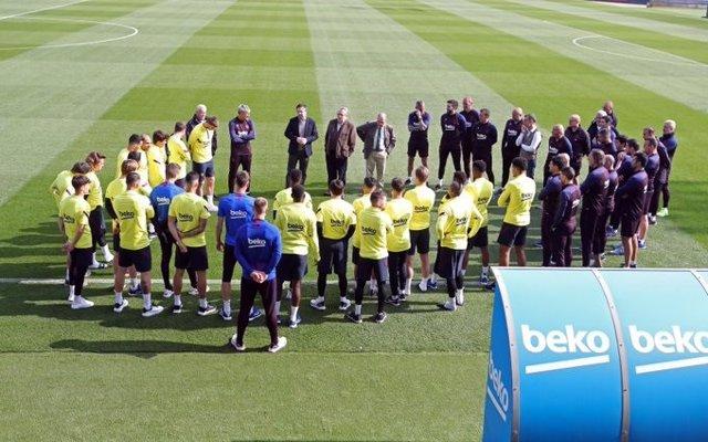 Fútbol.- La plantilla del Barça se someterá a tests de coronavirus este miércole