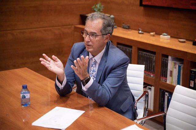El consejero de Educación y Juventud de Madrid, Enrique Ossorio. Archivo.