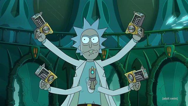 Imagen de la cuarta temporada de Rick y Morty