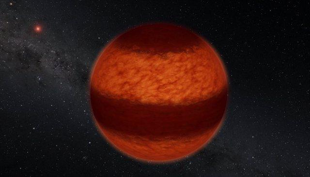 Bandas como las de Júpiter en la enana marrón más cercana
