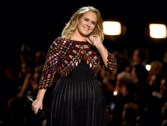 Recording artist Adele performs onstage during The 59th GRAMMY Awards at STAPLES Center on February 12, 2017 in Los Angeles, California