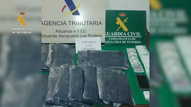 Cae una organización criminal en Tenerife y Madrid dedicada a introducir grandes