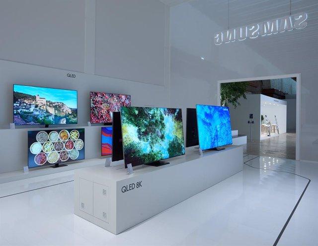 Samsung prevé una caída de un tercio de las ventas de televisores en España en 2