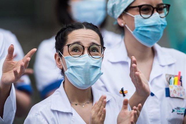 Professional sanitària (Arxiu)