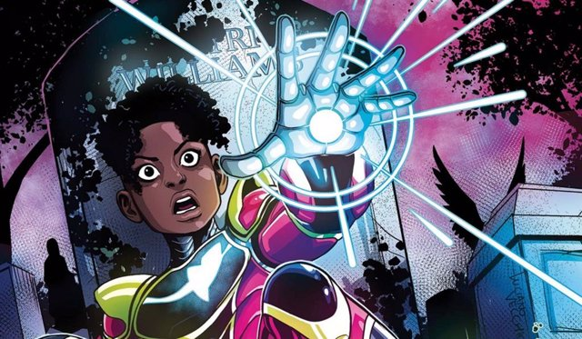 Ironheart en los comics de Marvel