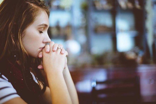 Mujer, preocupación, depresión