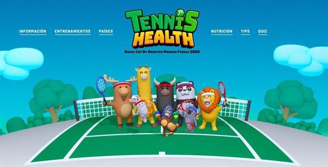 Tenis.- La Copa Davis vuelve a poner en marcha su programa educativo Tennis Heal