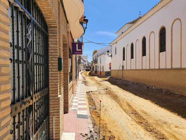 Obras en Albaida del Aljarafe