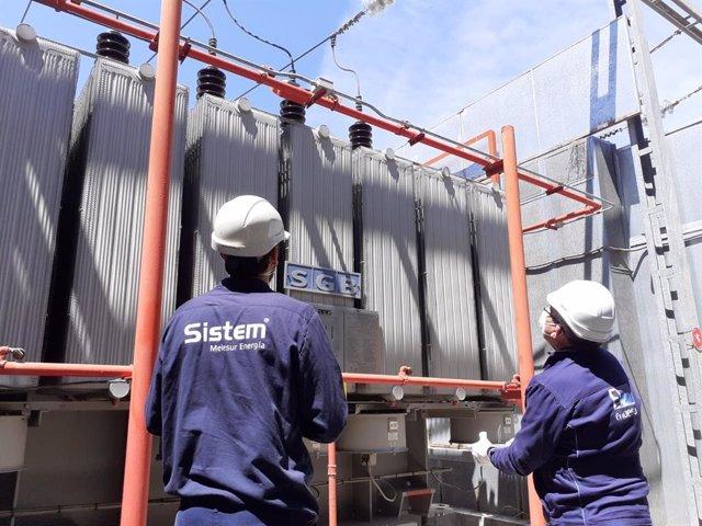 Técnicos trabajan para solucionar incidencia en subestación eléctrica de Granada