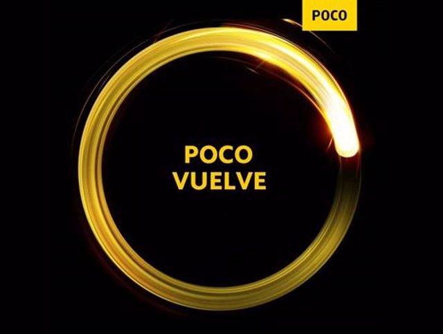 """POCO presentará su """"segunda generación"""" el 12 de mayo"""